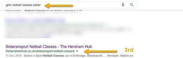 netball esher 600 - Work With Weybridge Life